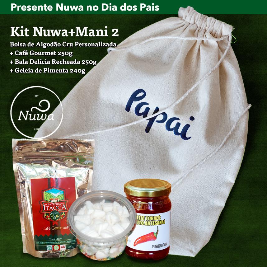 Kit Presente Dia dos Pais Nuwa